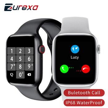 Zurexa Iwo W26 Smart Watch Men Women Buletooth Call Sports 40mm 44mm Iwo 12 Smartwatch Men Ip68 Waterproof Smart Clock For Ios 1