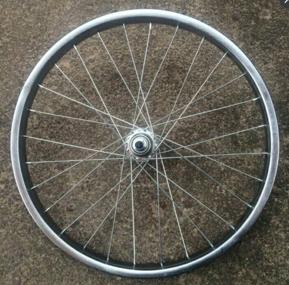 Bicycle Steel Ring Thick Hoop Folding 12/14/16/18/20/22/24/26 Inch Steel Wire Rough Wheel Set|  - title=