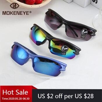 Óculos de sol para ciclismo proteção UV 400, proteção de olhos óculos de bicicleta Mountain Bike para ciclismo à prova de explosão esportes ao ar livre para moto 1