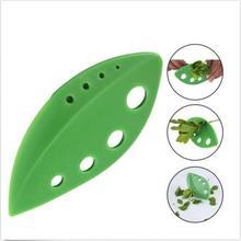 Полезные овощи розмарин, тимьян с капустным листом зачистки пластиковые зеленые отделитель трав Looseleaf Кухонные гаджеты Инструменты