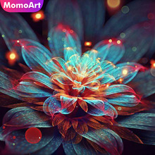 MomoArt Diamond Embroidery Full Drill Square Painting Swan Rhinestones Pictures Mosaic Animals Weeding