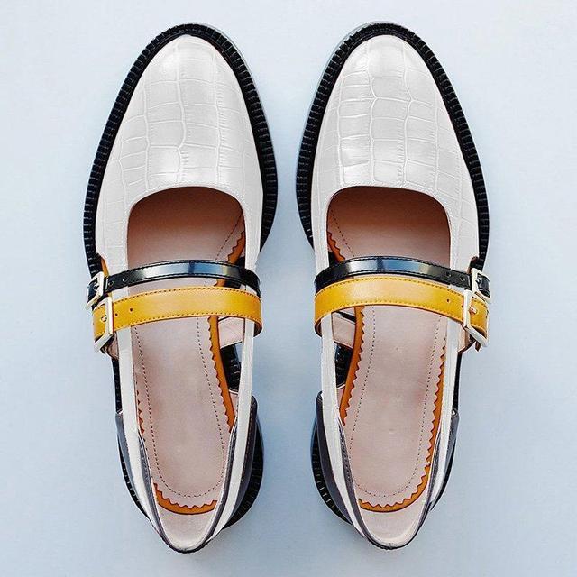 SWYIVY النساء الصنادل الصيف 2019 خمر مشبك حزام أسود السيدات حذاء كاجوال كتلة كعب أحذية صناديل للنساء حجم كبير 34 43