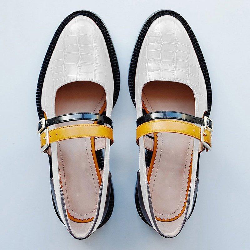 SWYIVY Women Sandals Summer 2019 Vintage Buckle Strap Black Ladies Casual Shoes Block Heel Shoes Woman Sandals Plus Size 34-43