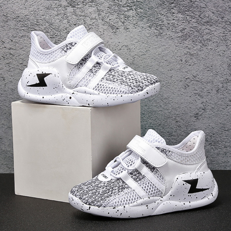 Flarut Summer Kids Sneakers Breathable Unisex Children Shoes Girls Boys Mesh Flexible Casual Shoes Outdoor Child Non-slip Shoes