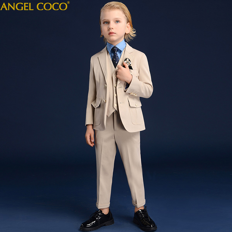 Boys Suits For Weddings Blazers Suits Boy Formal Suits For Boy Party Clothes Flower Boy Clothing Costume Enfant Garcon Mariage