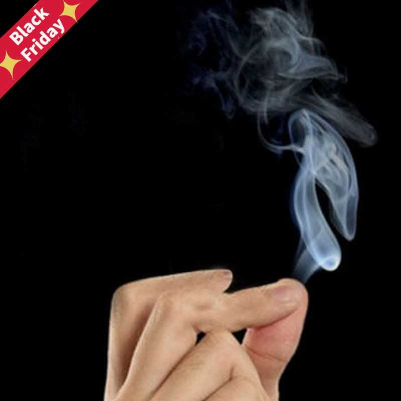 4Pcs/lot Magic Smoke from Finger Tips Magic Trick Surprise Prank Joke Mystical Funny Toys Fun Games Gift