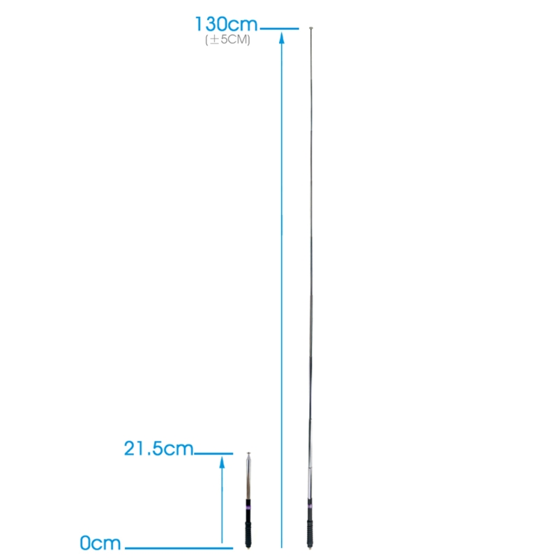 103cm NA-777S Rod Telescopic Antenna VHF 136-174MHz High Gain SMA-F
