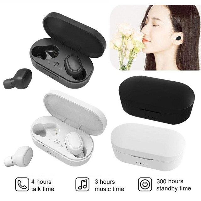 Wireless Bluetooth 5.0 Headset Earphones Sport music Headphone Waterproof Running Ear Bud For Vivo Sony xiami xiomi xaomi xaiomi