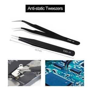 Image 4 - 20 In 1 Disassemble Screwdriver Set Anti static Brush Mobile Phone Repair Tool Kit For iPhone Samsung Android Cell Phone Repair