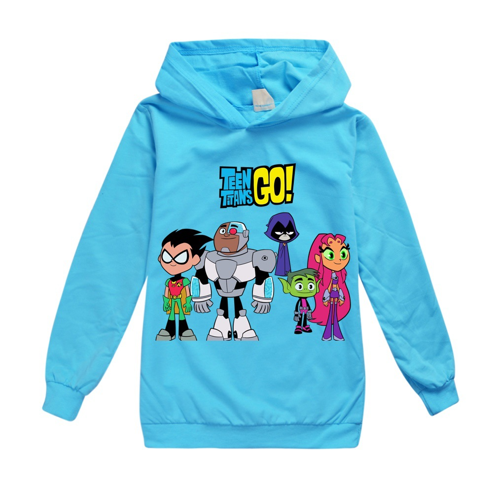 Toddler Shirts Christmas T Shirt Cotton Teen Titans GO  Boys Tops Thanksgiving Teenage Clothes 12 14 Year Little Girls Clothing 1
