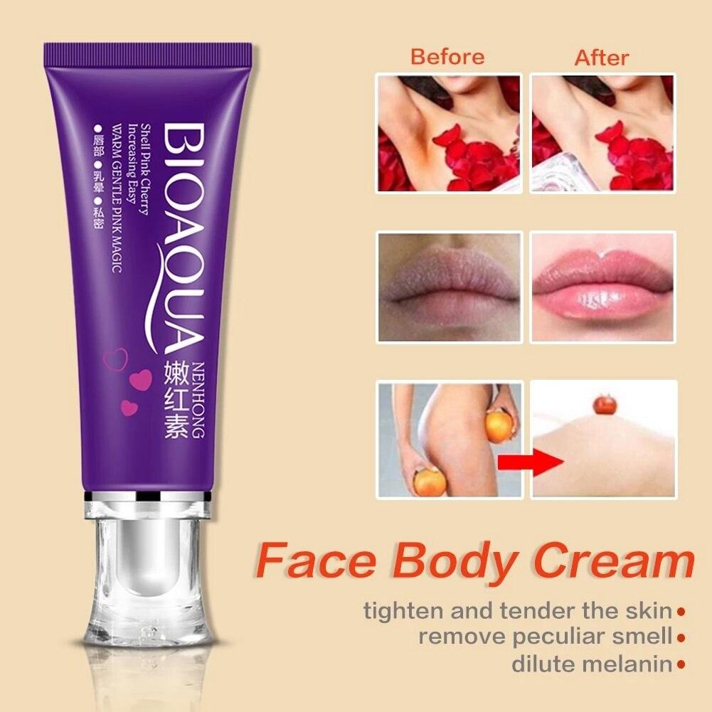 Labbra vaginali da donna parte privata rosa ascelle intimo capezzolo scuro crema sbiancante anale ragazze cura della pelle crema sbiancante per il corpo 1