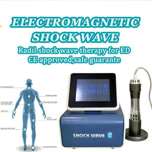 Therapy-Machine Massage-Gun Shock-Wave-Therapy Health-Care-Device Pain-Relief Portable