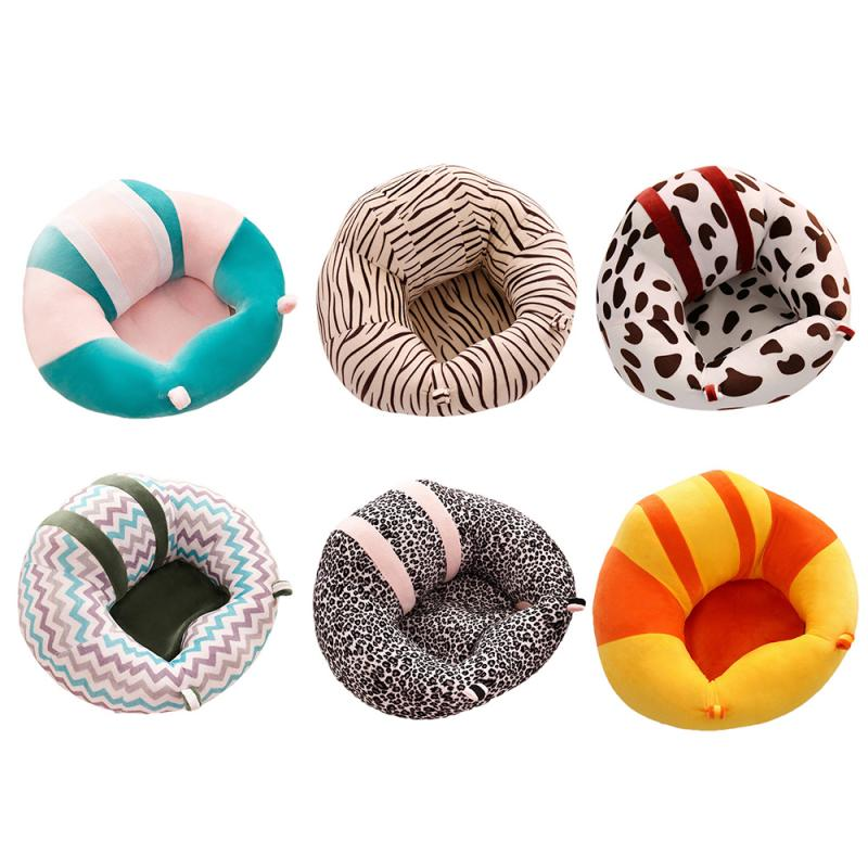 Baby Seats Kids Baby Support Seat Sit Up Soft Chair Cushion Sofa Plush Pillow Bean Bag Comfortable Toddler Nest Puff 5