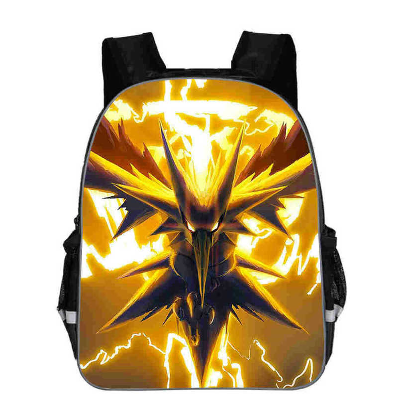 Anime Pokemon Backpack Boys Girls School Bags Children Pikachu Backpack For Teenagers Kids Gift Backpacks Schoolbags Mochilas