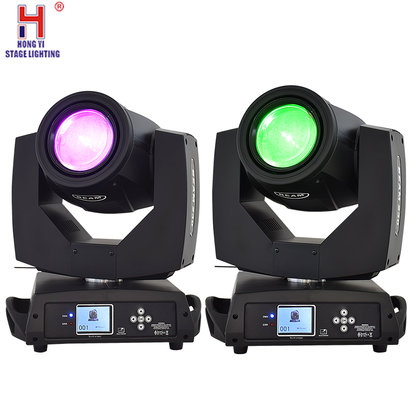 Sharpy Lyre Beam 230W 7R Moving Head Light Touch Screen Beam 230 Beam 7R Stage Disco Lights(2pcs/lot)