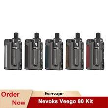 D'origine Nevoks Veego 80 Vape Kit 80W Batterie avec SPL-12 Maille Bobine Mod Pod Kit Cigarette Électronique Vaporisateur VS MECHLYFE
