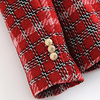 Fashion Double Breasted Plaid Blazers and Jackets Work Office Lady Autumn Women Suit Slim Business Female Blazer Coat Talever 4
