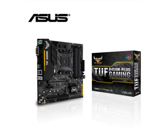 New <font><b>ASUS</b></font> TUF <font><b>B450M</b></font>-PLUS <font><b>GAMING</b></font> motherboard DDR4 Socket AM4 Desktop Mainboard DDR4 Dual Channel 64GB original motherborad image