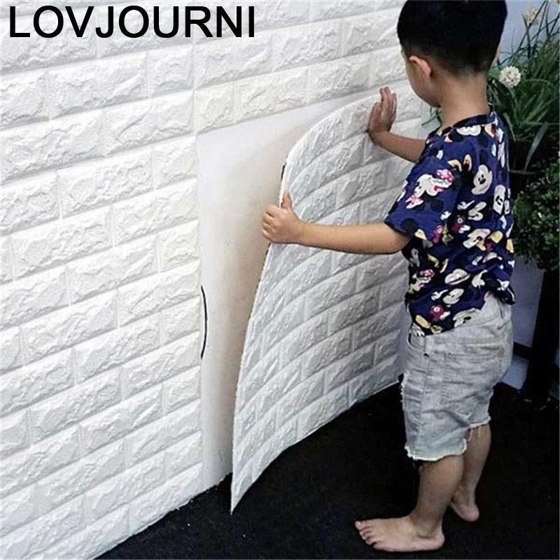 Kid Quarto Mural Tapety Tapiz Pared Adesivo Auto Adesivo Papier Peint Quarto 3d Papel De Parede Papel De Parede Decoração Da Casa de Parede papel