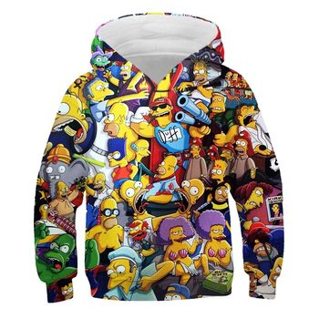 3D Simpson Hoodies Sweatshirt 1