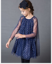 2019 autumn girls princess dresses Cute cotton baby clothing party kids clothes for children girl elegant