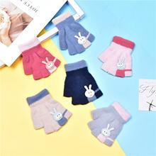 Детские кашемировые водные перчатки с милым рисунком теплые