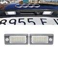 Светодиодсветильник лампа Canbus для номерного знака Audi A3 A4 S4 RS4 B6 B7 A6 RS6 S6 C6 A5 S5 2D Cabrio Q7 A8 S8 RS4 Avant