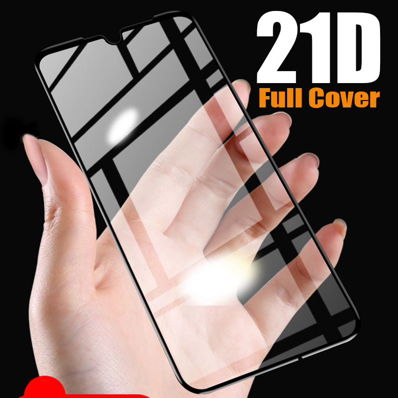 21D Full Cover Tempered Glass For Xiaomi Redmi Note 7 Glass Redmi Note 8 Pro Screen Protector Redmi 7 7A  Mi 9t 8T K20 Pro