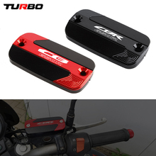 For HONDA CBR650R CB650R 2018 2019 2020 Motorcycle Accessories Front Brake Clutch Cylinder Fluid Reservoir Cover Cap With Logo