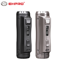 Originele Ehpro Koud Staal 100 Mod 120W Tc E Sigaret Doos Mod Vape 0.0018S Ultrasnelle Afvuren Snelheid Vaporizer ondersteuning Rta Rba