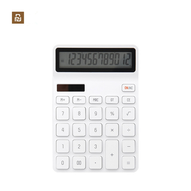 Youpin KACO LEMO pulpit kalkulator fotoelektryczny podwójny Dive 12 numer wyświetlacz inteligentne wyłączanie dla szkolnego biura