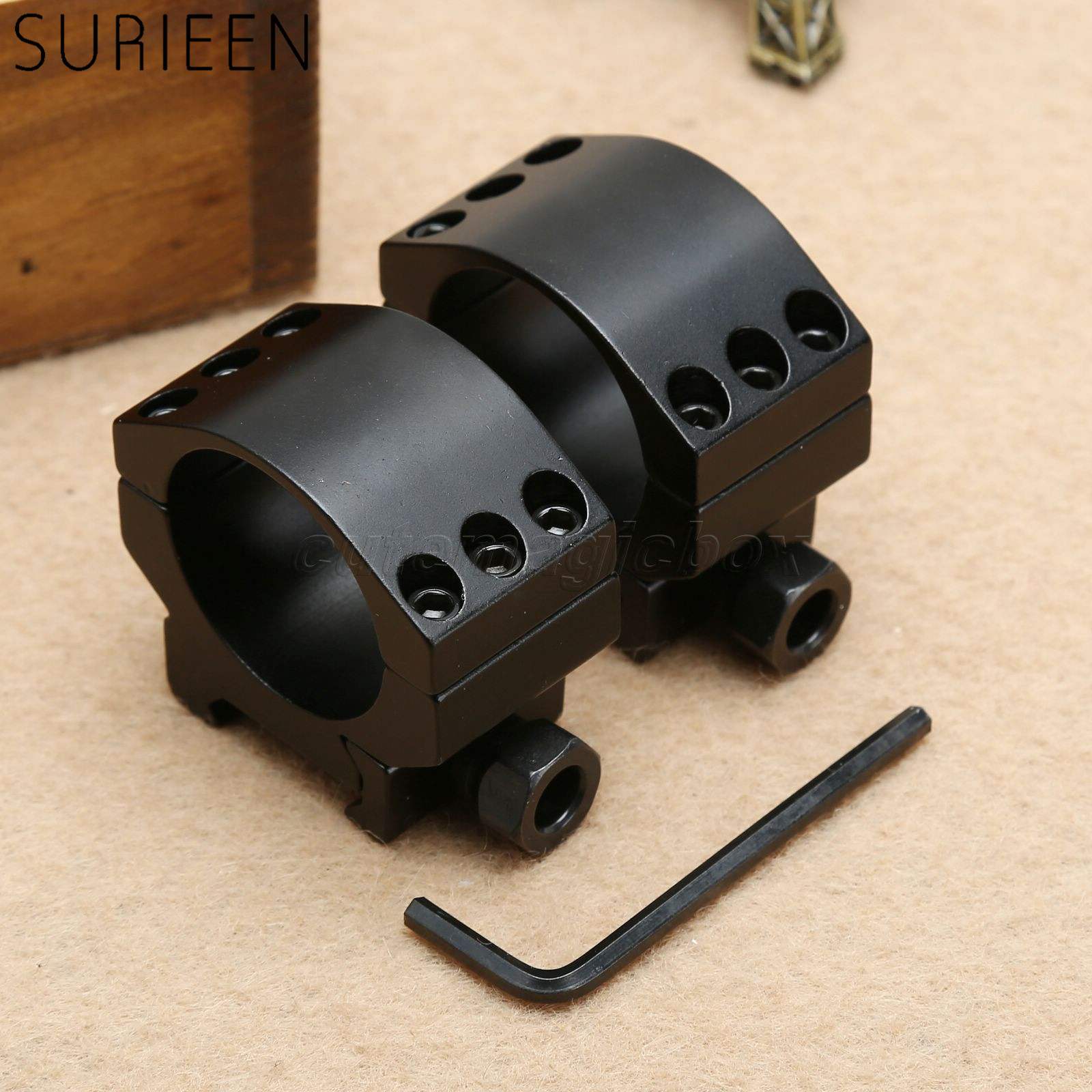 2 PCS Steel Sling Mount Buckle Plate Adapter Hook For 21mm Picatinny Rail Rifles