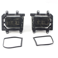 2pcs/Pair Front Bumper Clear Fog Lights IPN 63171385945 / 63171385946 For BMW E30 318i 320 325i 1982to1994 Car Lamp 3