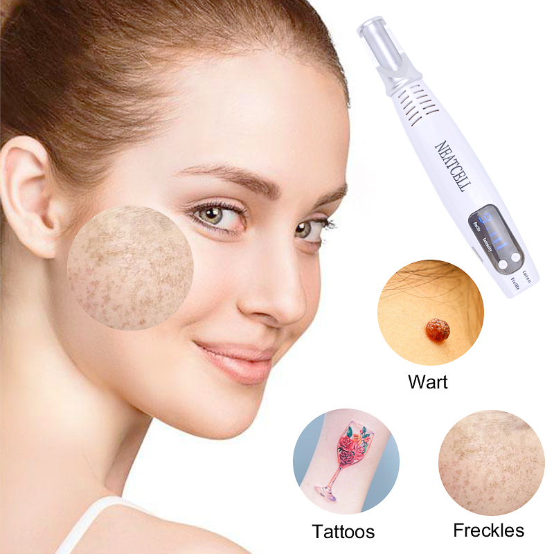 Image 4 - Licheng Portable Blue Light Laser Picosecond Pen Black Tattoo Removal Acne Scar Mole Freckle Dark Spot Black Pigment Removal-in Face Skin Care Tools from Beauty & Health