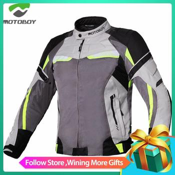 MOTOBOY summer Motorcycle men's woman's Moto Protective Gear Jacket men Racing Reflective oxford clothing Motorbike jackets motorcycle jacket men summer moto protective gear jacket men racing reflective oxford clothing motorbike jackets