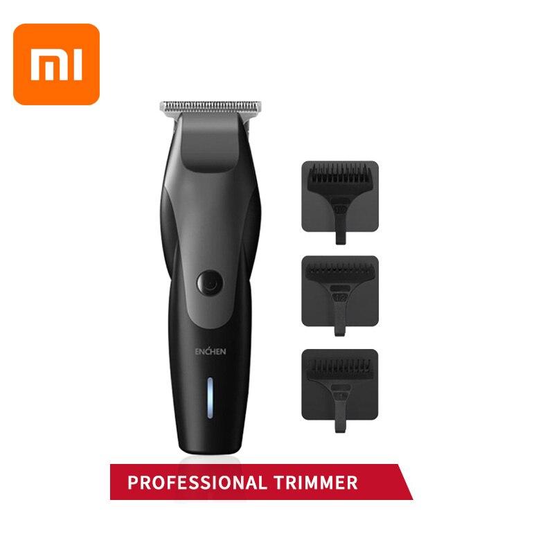 XiaoMi ENCHEN Hair Clipper Professional Trimmer Men's Beard Cutting Machine USB Charging Wireless Trimmer Waterproof Hair Trimme