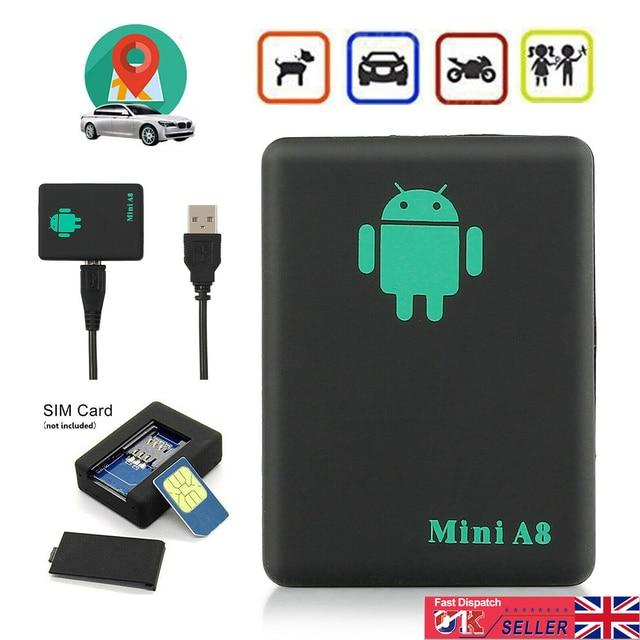 Mini Spy Bug Room Remote Voice Surveillance GSM Listening Box Device Sim Slot UK GPS Positioning Accuracy 10m 6