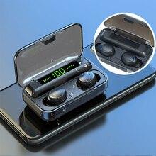 Headset Hifi Popsocket In-Ear earbuds Fingerprint Bluetooth Tws Oringinal Stereo Wireless-Earphones