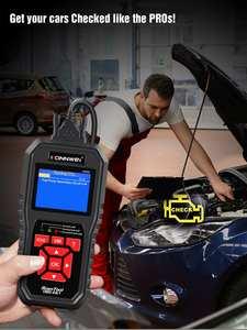 KONNWEI KW850 OBD2 автоматический диагностический сканер универсальный OBD Автомобильный диагностический инструмент ODB2 проверочный двигатель авто...