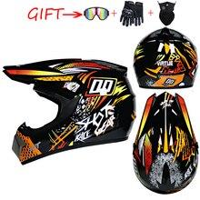 WLT Motocross Helmet Off Road Professional ATV Cross Helmets MTB DH Racing Motorcycle Helmet Dirt Bike Capacete de Moto casco