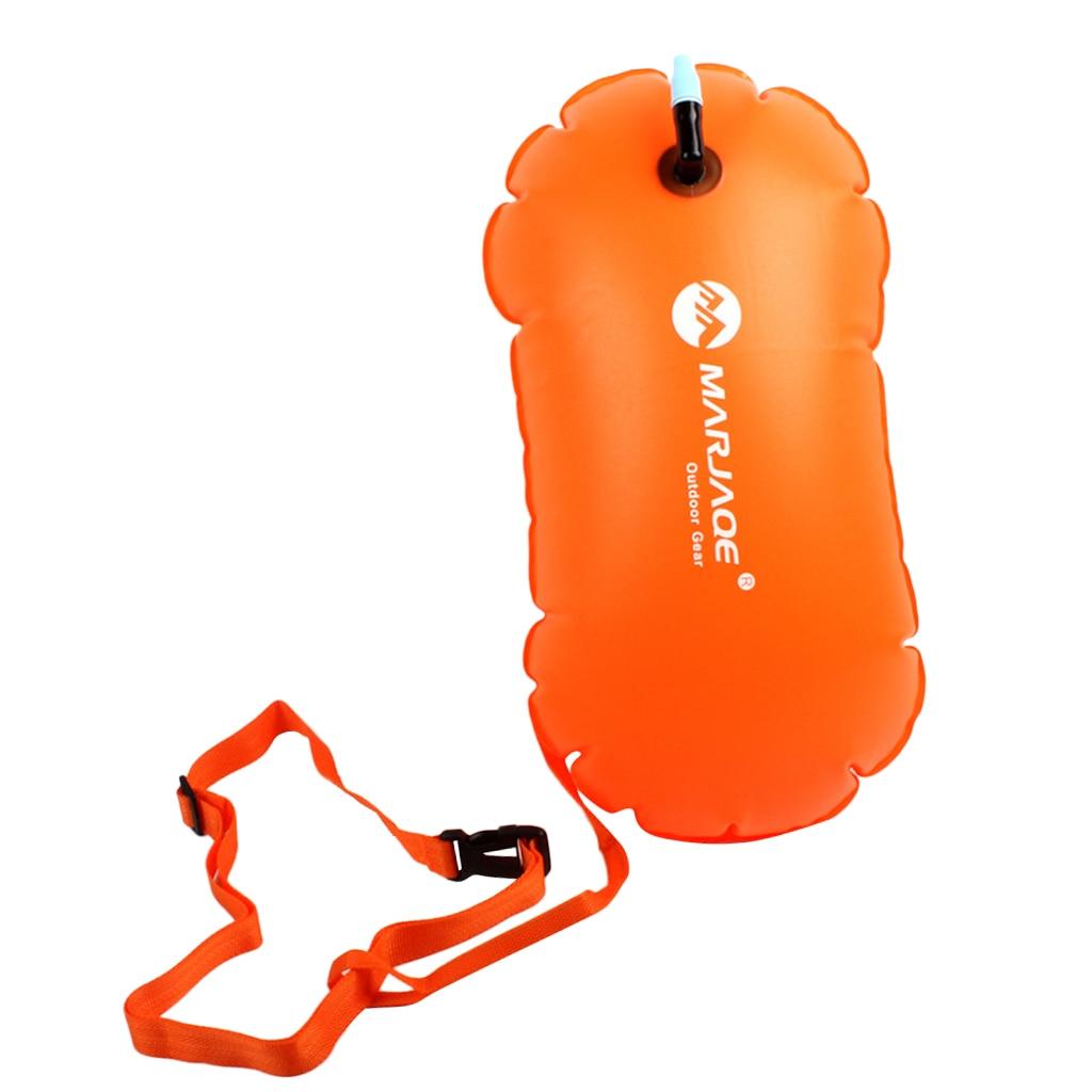2Pcs Swim Buoy Open Water Swimming Pool Safety Flotation Device w//Waist Belt