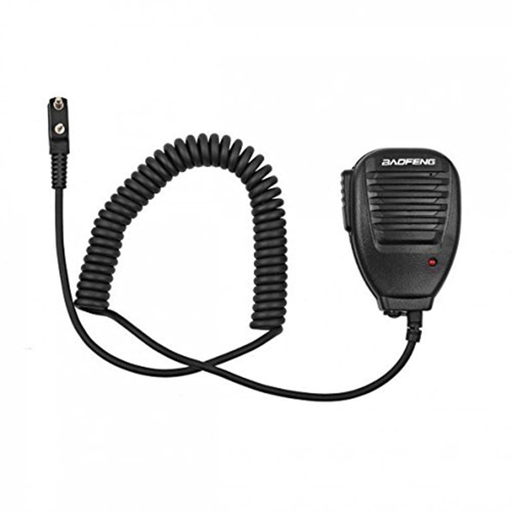 Portable Universal Baofeng 2-Way Radio Speaker With Mic Radio Walkie Talkie For Kenwood Hotel Restaurant Security Tool