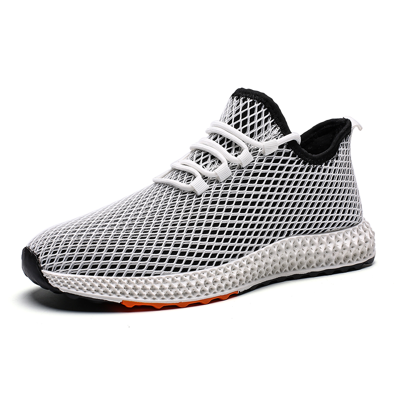 LOOZYKIT Men Shoes Sneakers Flats Mesh Autumn Fashion New Man Breathable Running