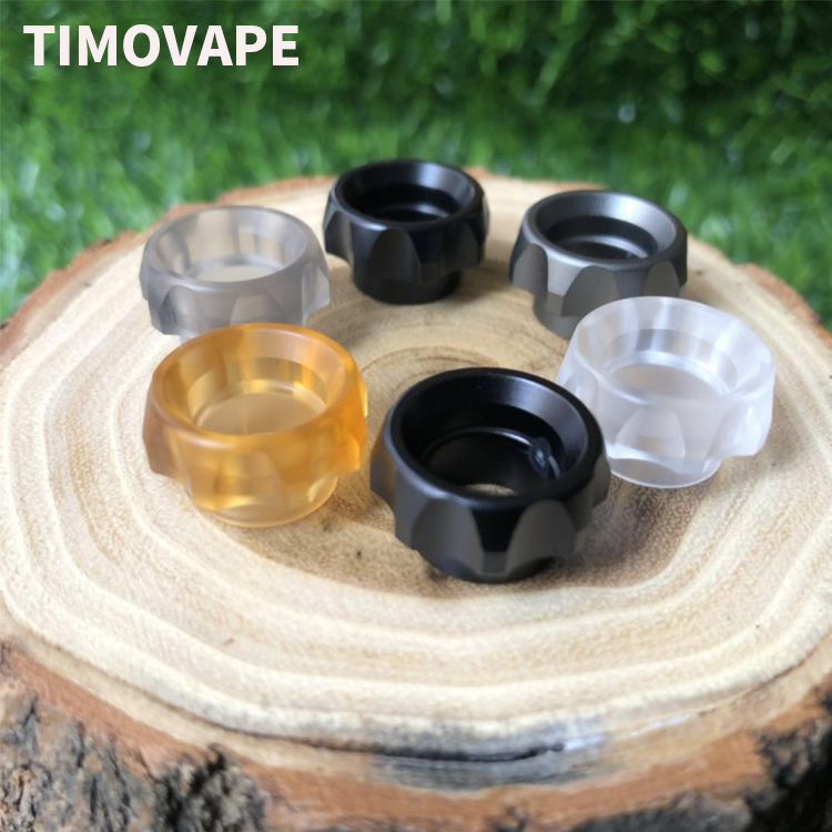 1pc Gear 810 Drip Tips Wide Bore Mouthpiece For Kennedy Reload Goon 528 Rda Ecig Accessory