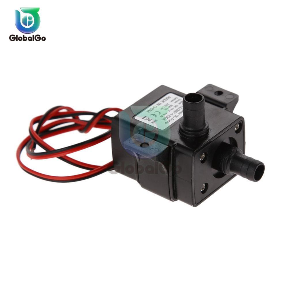 Ultra-quiet DC 12V 4.2W 240L/H Flow Rate Waterproof Brushless Pump DC Brushless Micro Mini Submersible Water Pump
