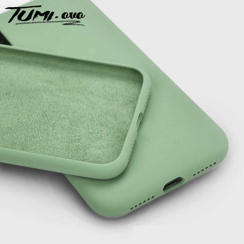 Capa de silicone líquido para smartphone, case protetor, macio, para redmi note 8, 8t, 7, k20, pro, 8a, 7a, 6, 6a xiaomi mi 9 se 9t cc9 cc9e note 10 a2 a3 lite