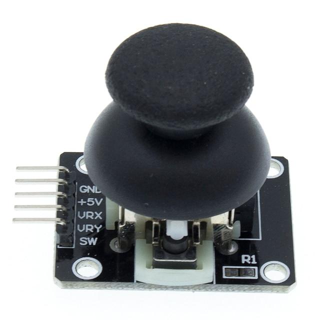 50 قطعة وحدة ذراع تحكم XY ثنائي المحور لـ Arduino عالية الجودة PS2 مستشعر ذراع التحكم في ذراع التحكم KY 023 تصنيف 4.9/5