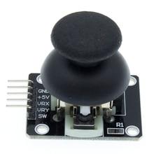 50 pces para arduino duplo eixo xy joystick módulo de maior qualidade ps2 sensor de alavanca de controle de manche KY 023 avaliado 4.9/5