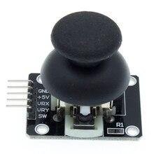50 sztuk dla Arduino dwuosiowy moduł XY Joystick wyższa jakość PS2 Joystick czujnik dźwigni KY 023 oceniane 4.9/5