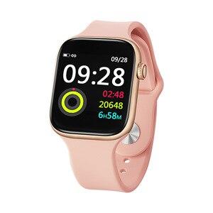 Новые смарт-часы для женщин и мужчин Smar twatch для Android IOS электронные смарт-часы фитнес-трекер силиконовый ремешок Смарт-часы